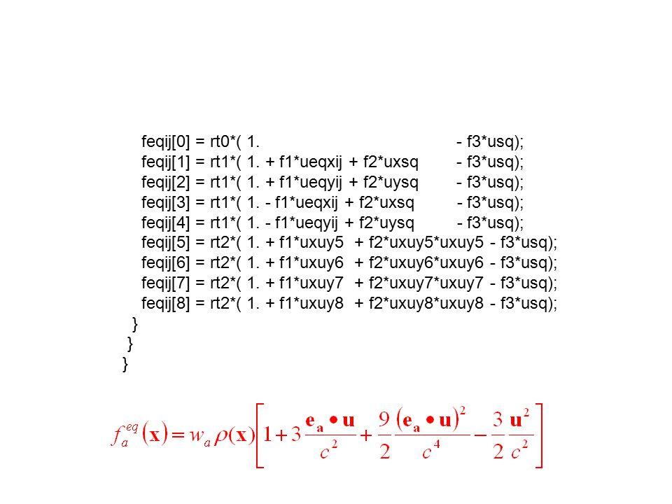 feqij[0] = rt0*( 1. - f3*usq);